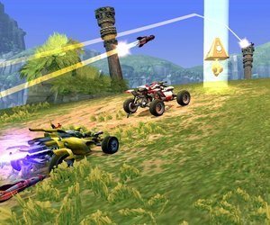 Jak X: Combat Racing Screenshots