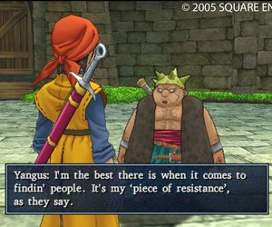 Dragon Quest VIII: Journey of the Cursed King Chat