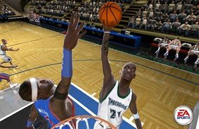 NBA Live 2005 Screenshot from Shacknews