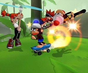 Ape Escape: Pumped & Primed Screenshots