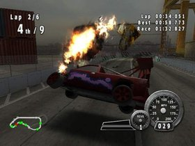 Crash 'N Burn Screenshot from Shacknews