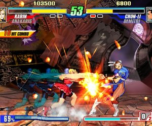 Capcom Fighting Evolution Screenshots