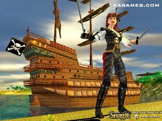 Pirates: The Legend of Black Kat Screenshots