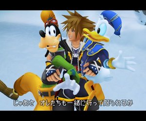 Kingdom Hearts II Screenshots