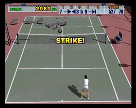 Sega Sports Tennis Screenshot from Shacknews