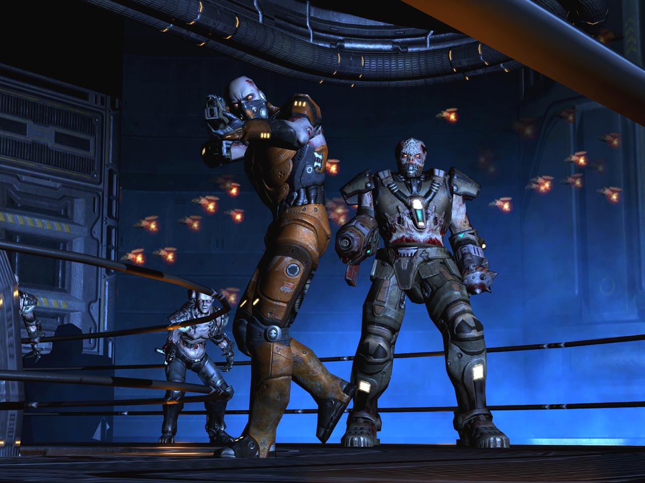Quake 4 Screenshots - Video Game News, Videos, and File ... Quake 4 Monsters