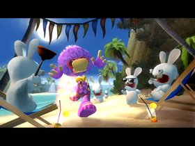 Rayman Raving Rabbids Screenshot from Shacknews