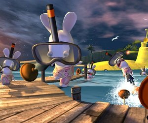 Rayman Raving Rabbids Screenshots