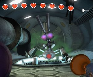 Rayman Raving Rabbids Screenshots