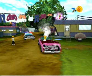 The Simpsons: Hit and Run Screenshots