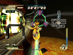 Sonic Riders Screenshot from Shacknews