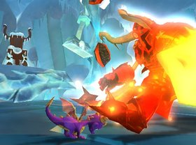 Legend of Spyro: A New Beginning Screenshot from Shacknews