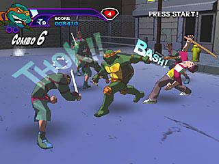 Teenage Mutant Ninja Turtles Screenshots
