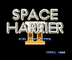 Space Harrier II Files