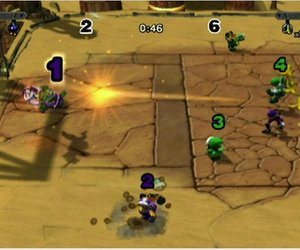Mario Strikers Charged Screenshots
