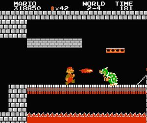 Super Mario Bros. Screenshots