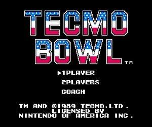 Tecmo Bowl Screenshots