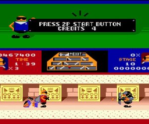 Bonanza Bros. Screenshots