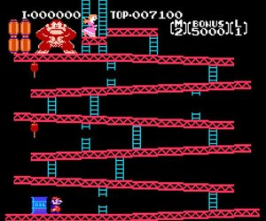 Donkey Kong Screenshots