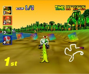 Mario Kart 64 Screenshots
