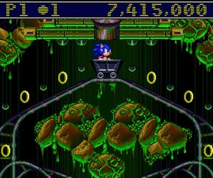Sonic Spinball Screenshots