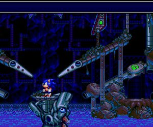 Sonic Spinball Screenshots