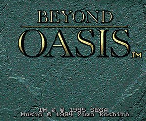 Beyond Oasis Files
