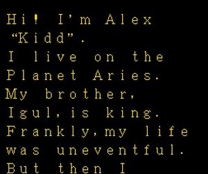 Alex Kidd in the Enchanted Castle Chat