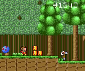 Alex Kidd in the Enchanted Castle Screenshots
