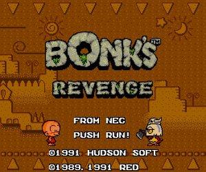 Bonk's Revenge Files