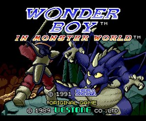 Wonder Boy in Monster World Screenshots