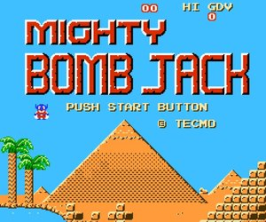 Mighty Bomb Jack Chat
