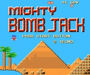 Mighty Bomb Jack Screenshots