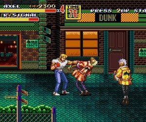 Streets of Rage 2 Files