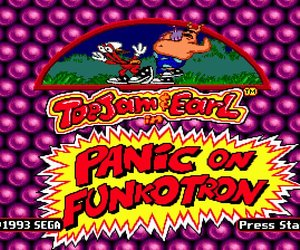 ToeJam & Earl in Panic on Funkotron Videos