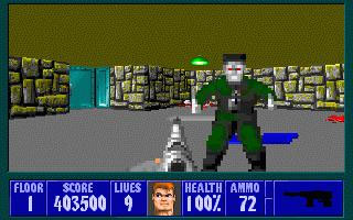 Wolfenstein 3D Screenshots