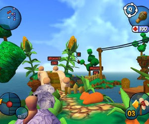 Worms3D Screenshots