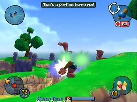 Worms 3D Screenshot from Shacknews