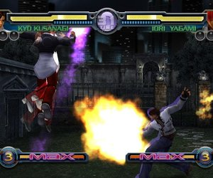 King of Fighters: Maximum Impact - Maniax Screenshots