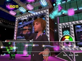 Karaoke Revolution Screenshot from Shacknews