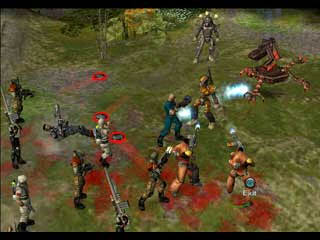 Aliens vs. Predator: Extinction Screenshots
