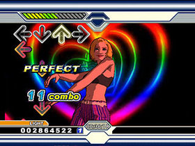 Dance Dance Revolution Ultramix Screenshot from Shacknews