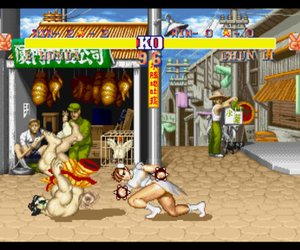 Street Fighter II' Hyper Fighting Screenshots