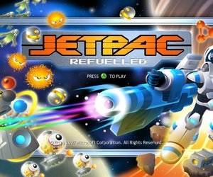 Jetpac Refuelled Screenshots