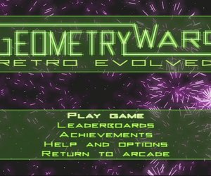 Geometry Wars: Retro Evolved Screenshots