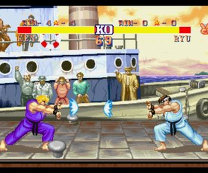 Street Fighter II' Hyper Fighting Chat