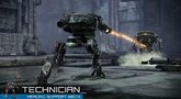 Hawken Mech Mechanics - Technician trailer