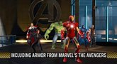 Marvel Heroes Play as Iron Man trailer