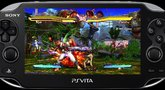 Street Fighter X Tekken Vita Captivate 2012 gameplay trailer