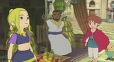 Ni no Kuni Wrath of the White Witch GamesCom 2012 trailer